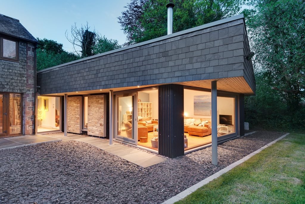 Residential extension for Kingsmill Barn